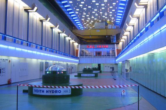 1.Interior sala masini dupa finalizare lucrari modernizare