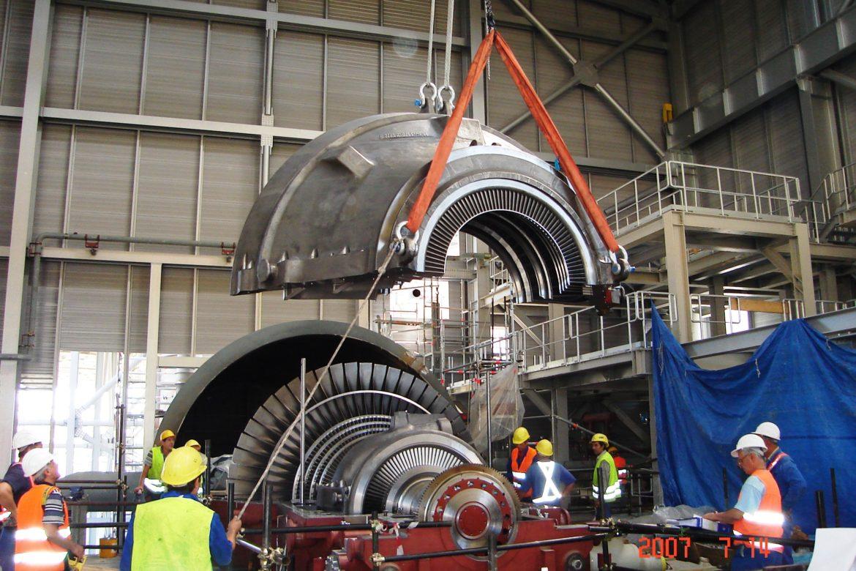 18.Steam turbine erection
