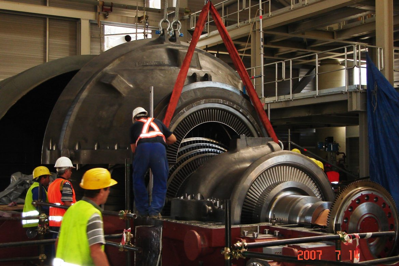 19.Steam turbine erection