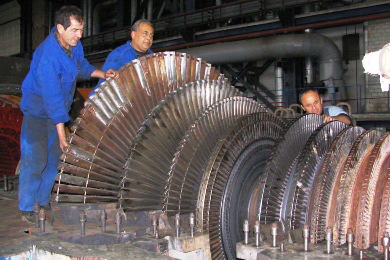 2. LP Turbine rotor