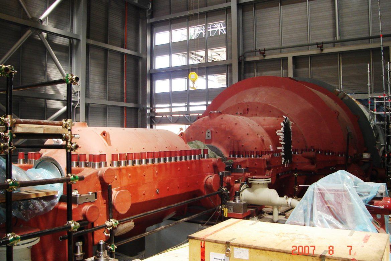 21 Closed steam turbine