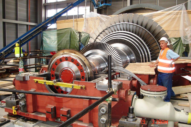 29. Steam turbine Rotor