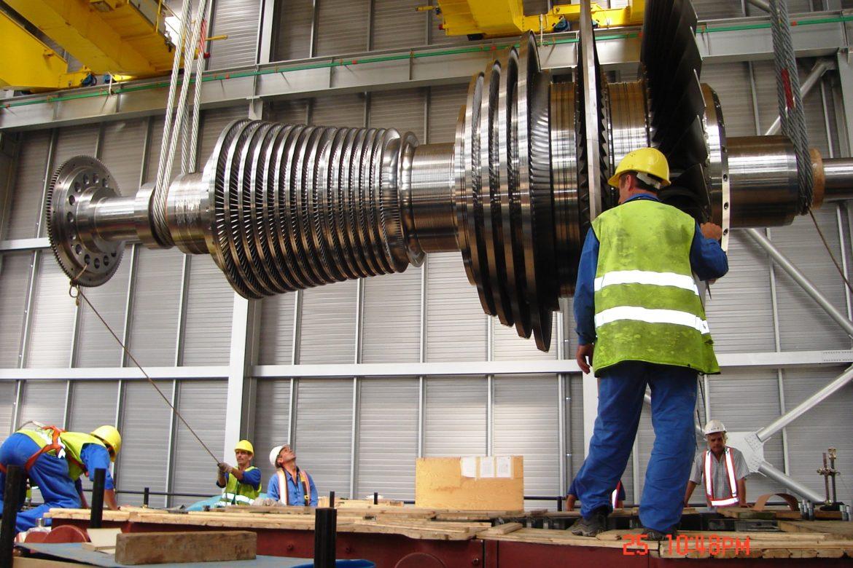 30.Steam turbine rotor