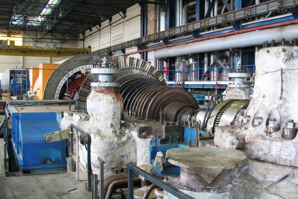 7. DSL 50MW Turbine in reparation